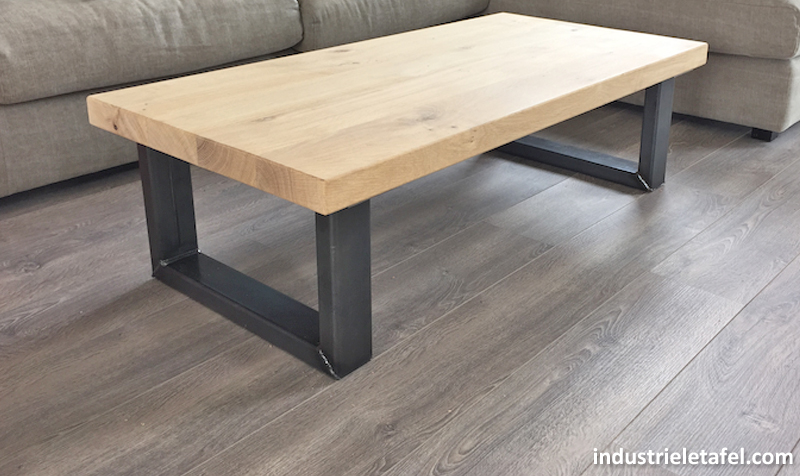 Industriele Tafel Poten : Stoere robuuste met de handgemaakte industriele tafelpoten model